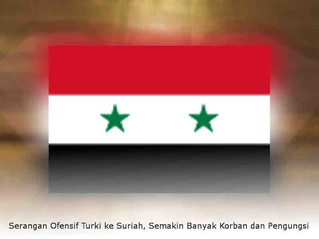 Serangan Ofensif Turki ke Suriah, Semakin Banyak Korban dan Pengungsi