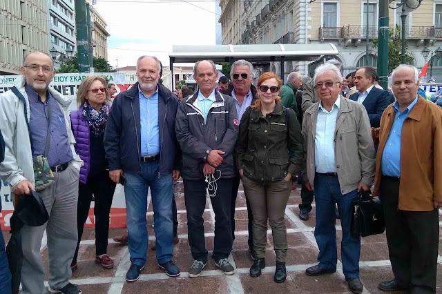 """""""ΟΧΙ ΣΤΟ 4ο ΜΝΗΜΟΝΙΟ"""" φώναξαν τα μέλη του Συνδέσμου Πολιτικών Συνταξιούχων Άργους στην Αθήνα"""