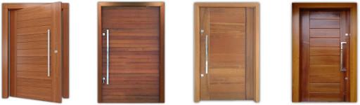 Modelos de portas maciças