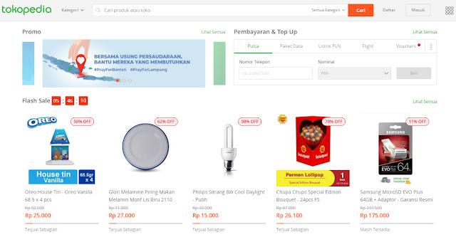 #Tokopedia - Promo Voucher Cashback 50% s.d 30 Ribu (KHUSUS APK)