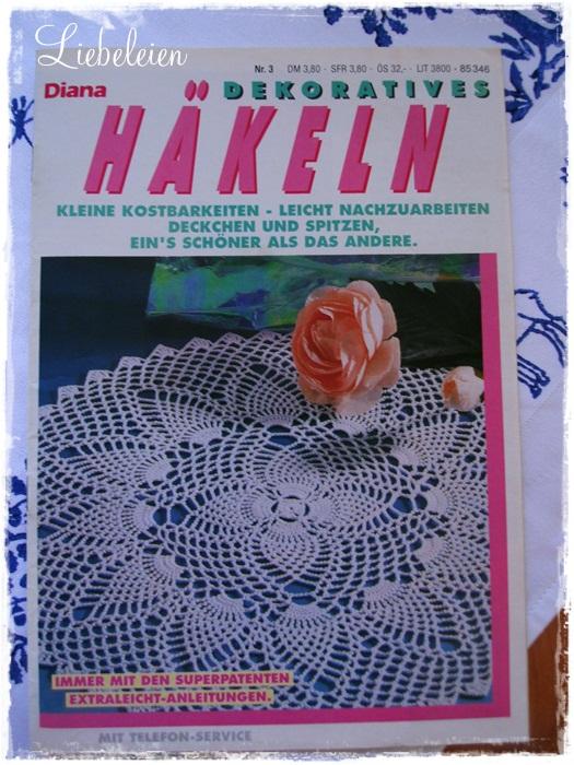 Liebeleis Handarbeitskiste Diana Dekoratives Häkeln Nr 3