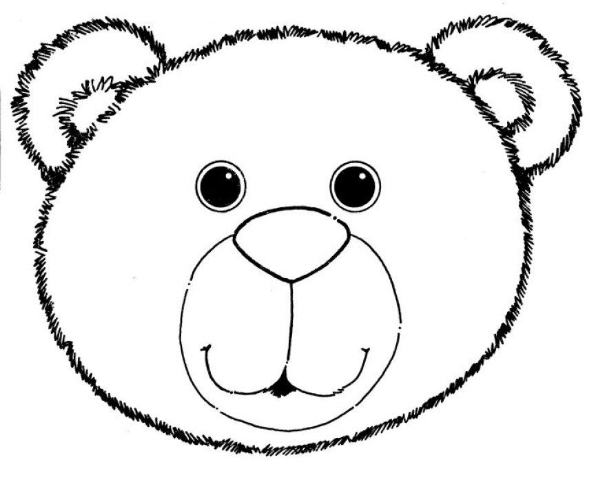 Ursinhos Para Colorir Com Letras