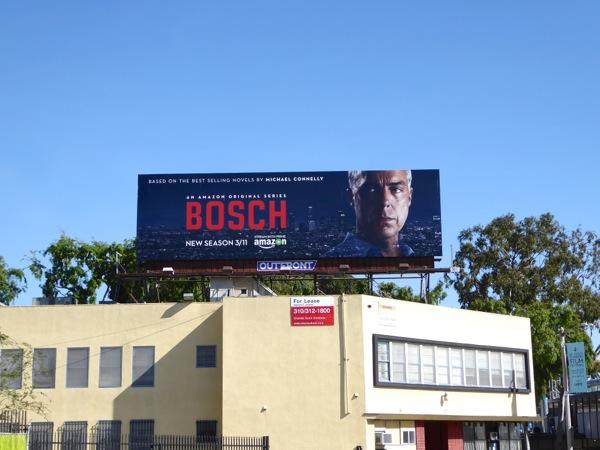 Bosch season 2 Amazon billboard