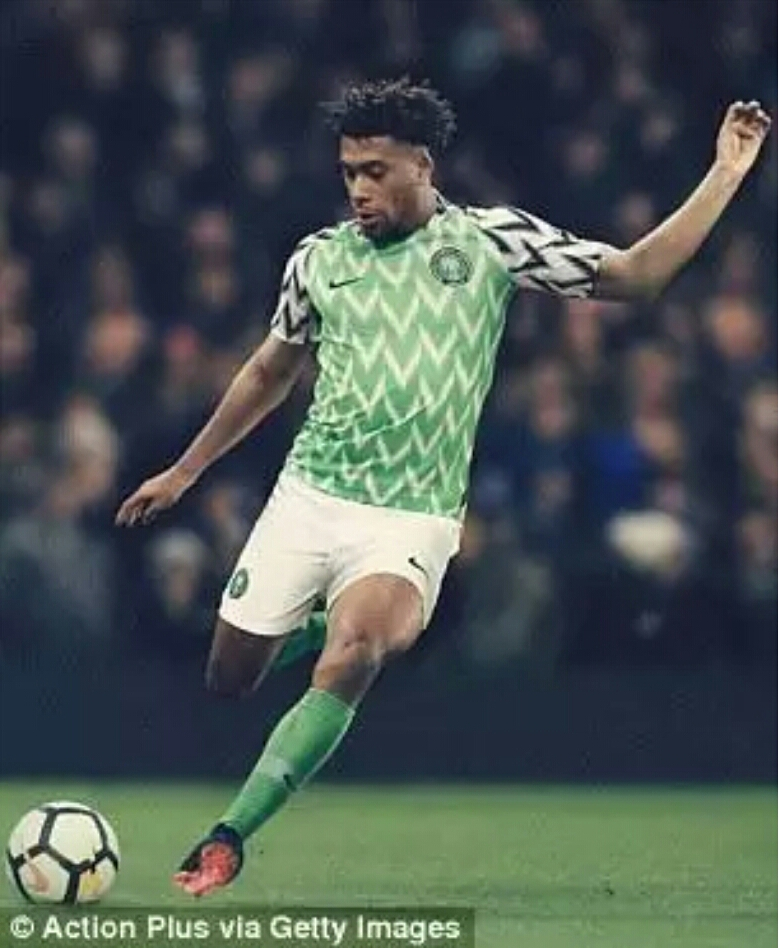 Nigeria have released their home and away kits for the 2018 World Cup as  the Super Eagles pay homage to their USA 1994 campaign. 8005c832a