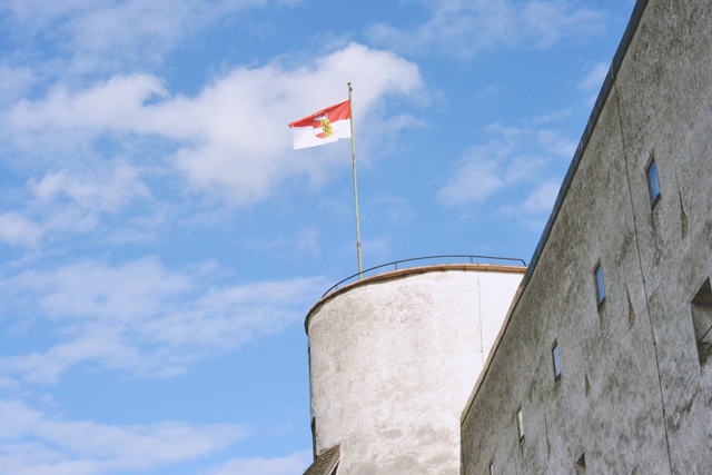 Salzburg Austrian Flag