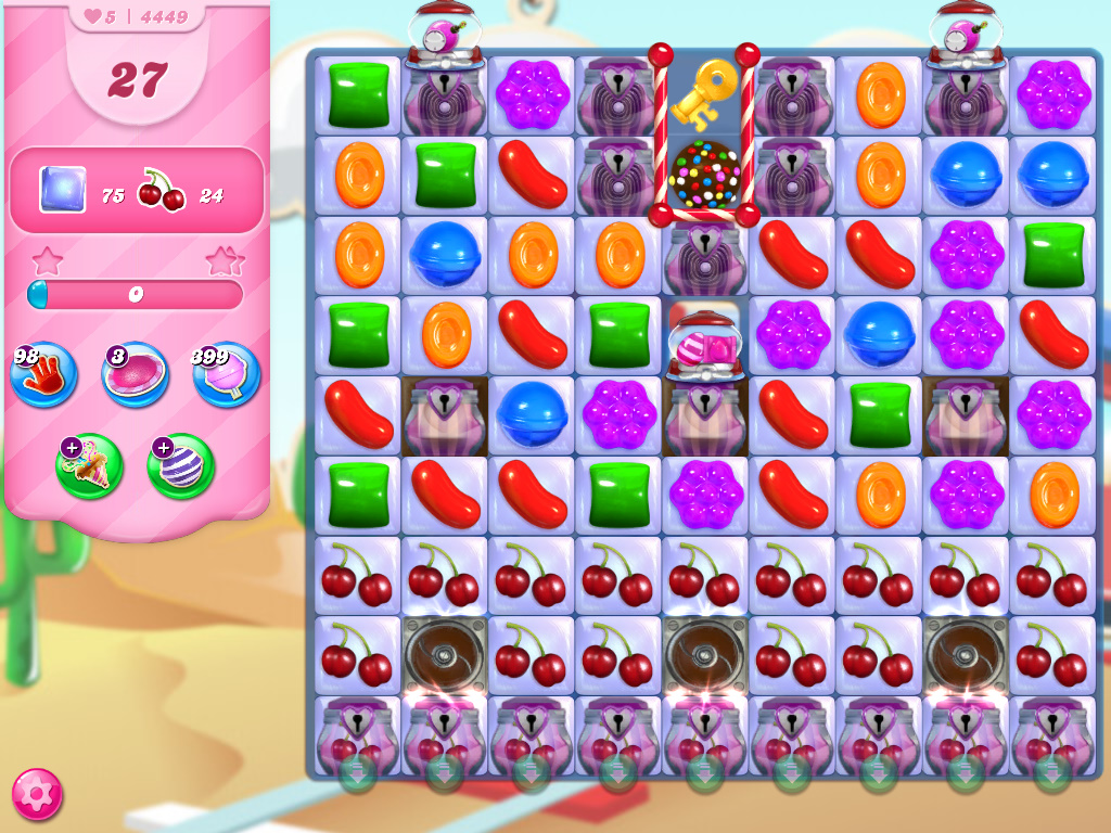 Candy Crush Saga level 4449