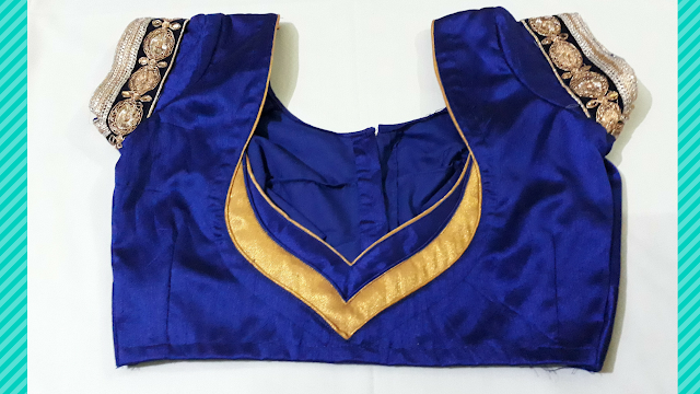 How To Make Design Blouse At Home