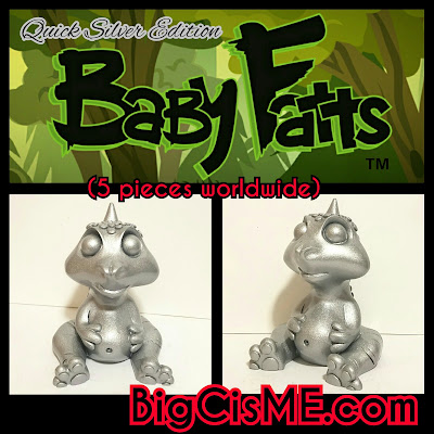 Baby Fatts Quick Silver Edition Resin Figure by Big C