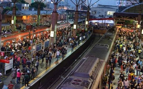 Estação Brás - CPTM (Imagem: Reprodução/Rovena Rosa/Agência Brasil)