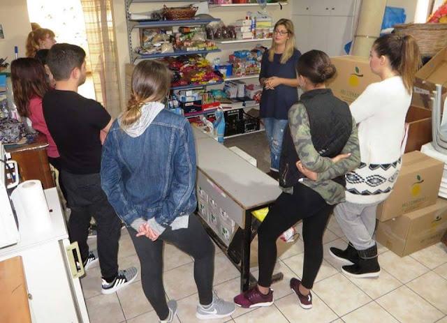 Φοιτητές από Πανεπιστήμιο του New Jersey επισκέφθηκαν την Πύλη Πολιτισμού στο Ναύπλιο
