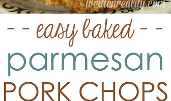 BAKED PARMESAN CRUSTED PORK CHOPS