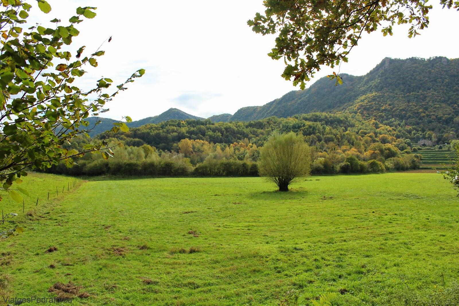 Parc natural de la Zona Volcanica de la Garrotxa tardor
