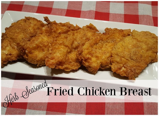 Julia's Simply Southern: Herb Seasoned Fried Chicken Breast
