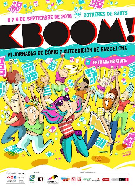 KBOOM! Barcelona, el 8 y 9 de septiembre de 2018