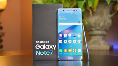 Smartphones Samsung Galaxy Note7