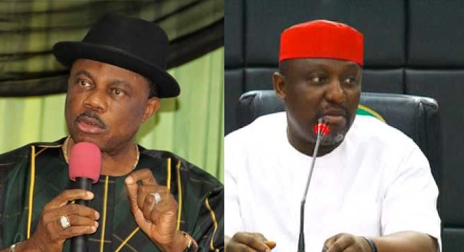 Obiano: Okorocha should keep quiet when I'm talking