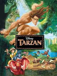 Tarzan (1999) Hindi - Tamil - Telugu - Eng 400MB BDRip