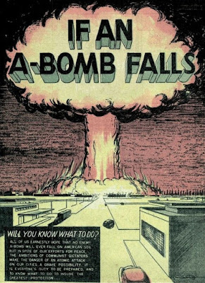 If an A-bomb Falls comic book