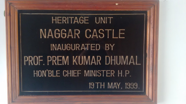 This castle was inaugurated by former chief minister prof Prem kumar dhumal