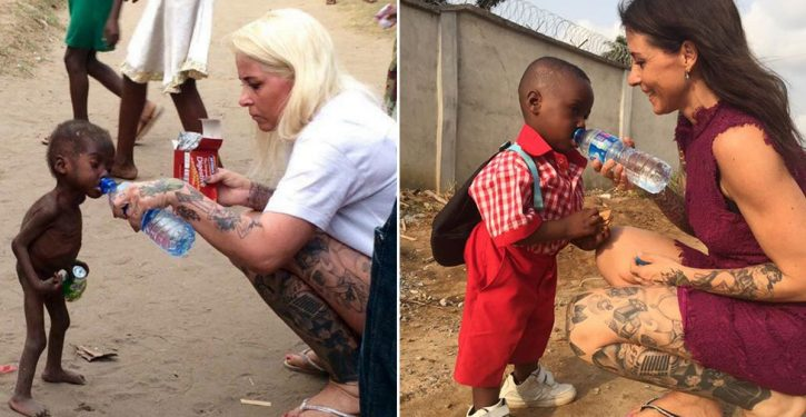 You Remember The Hungry Kid That His Parents Let Die Of Hunger? He Just Had His First Day Of School!