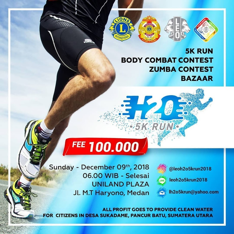 H2O5K Leo Run • 2018