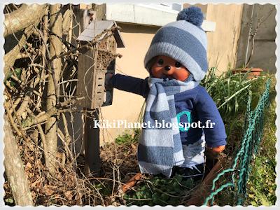 Kiki Monchhichi, sekiguchi, Monchhichi 45cm, jardin
