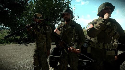 二次大戦時の米軍一般歩兵用装備を Arma 3 へ追加するMOD