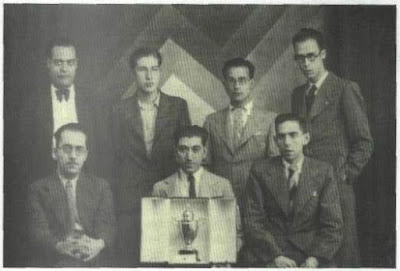 Club Ajedrez Alcoy, vencedor de la Copa Presidente de la República en 1935