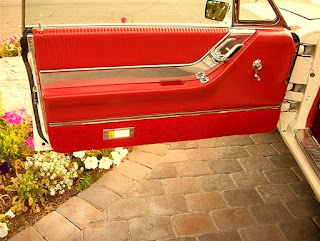 1965 Ford Thunderbird Luxury Coupe Door Interior 01
