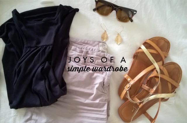 Finding Joy in a Minimal Wardrobe