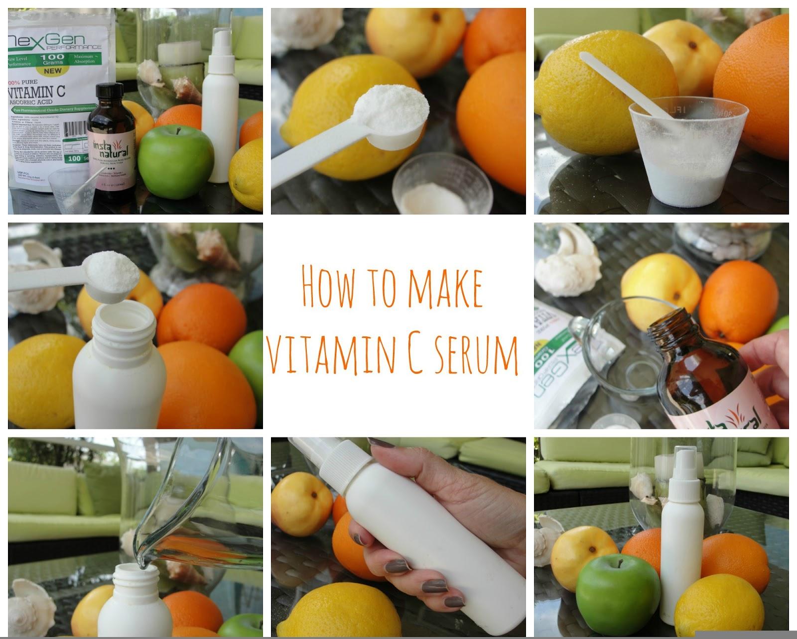 How to make your own Vitamin C serum! | Beauty4Free2U