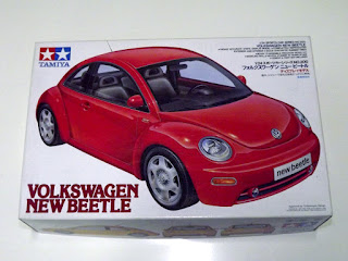 Volkswagen New Beetle 1/24 Tamiya