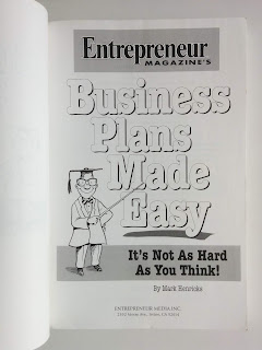 Business Plans Made Easy: It's Not As Hard As You Think!