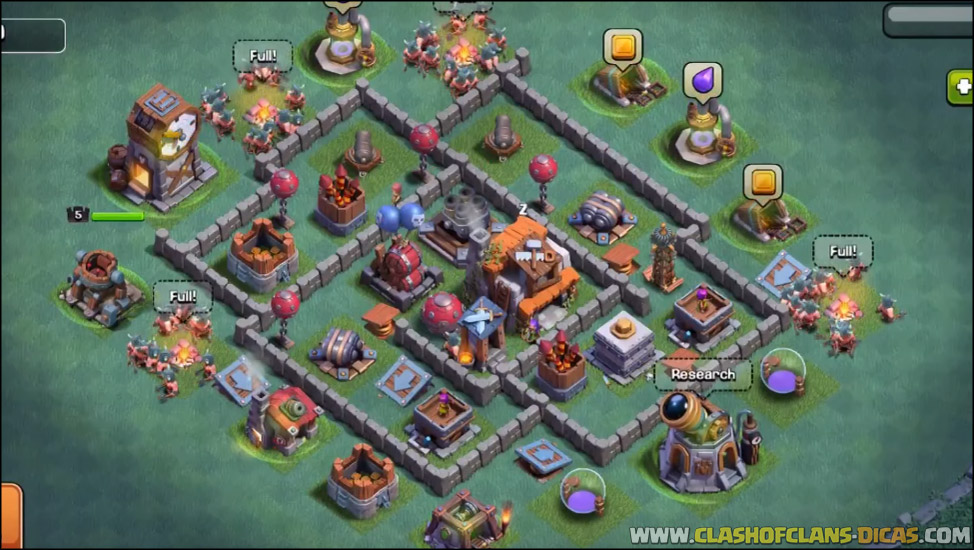 Builder Hall  Rusher