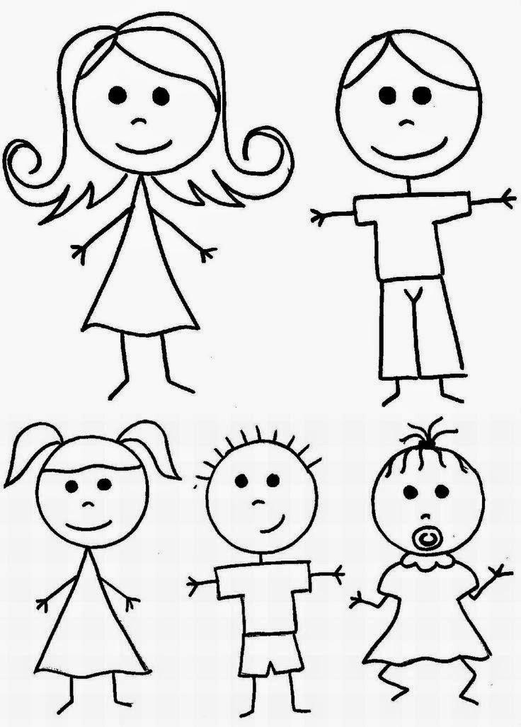 Πάω Α' και μ'αρέσει: Ζωγραφίζουμε εύκολα ανθρωπάκια