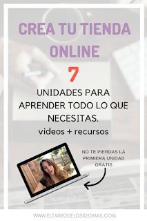 curso para aprender a crear tu tienda online para vender archivos ideal para profes. aprende a crear tu blog