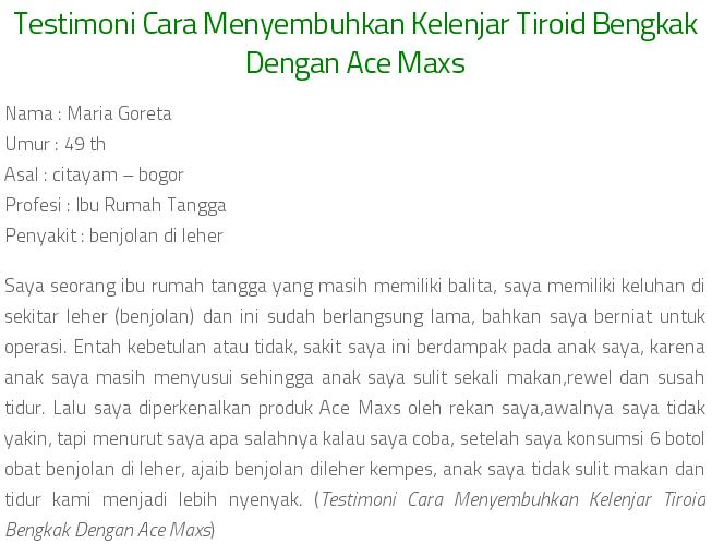 Cara Menyembuhkan kelenjar Tiroid