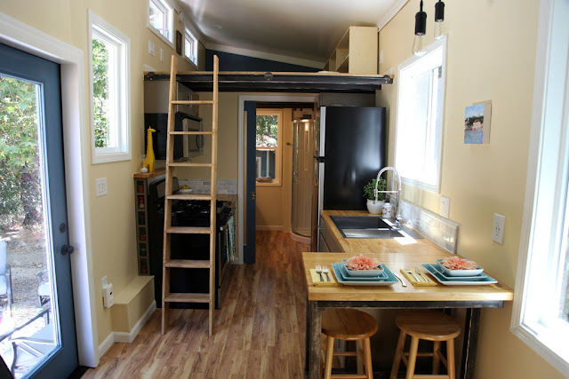 Dream Big Dwell Small tiny house