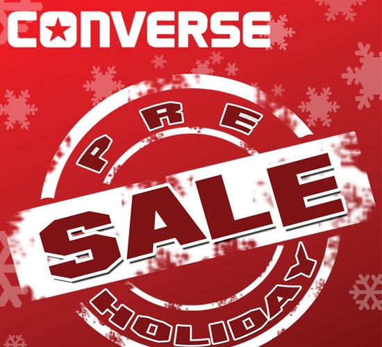 Sale Alert | Converse Pre-Holiday Sale