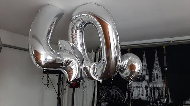 Garagenparty Dekoration 40. Geburtstag
