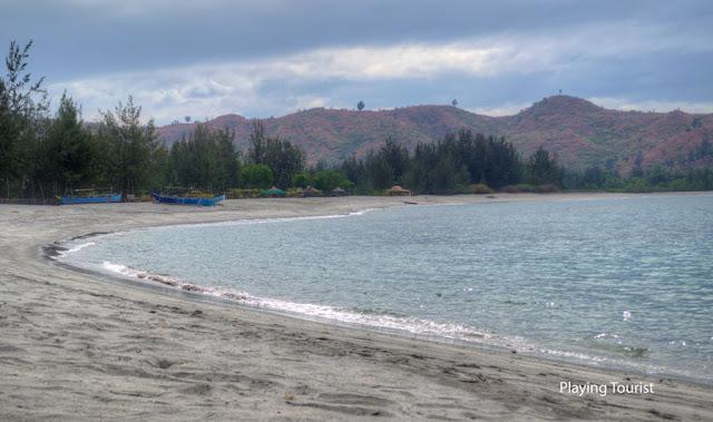 Silanguin Cove Shoreline