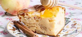 Κέικ κόλαση με μέλι και κανέλα