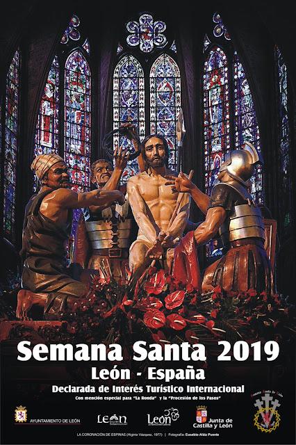 Cartel de la Semana Santa de Leon 2019