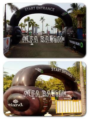 Balon Gate Start Entrance