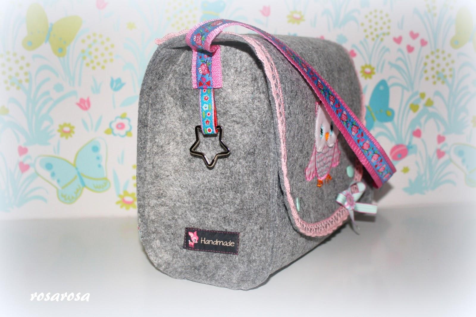 Noch eine Kindergartentasche und Probenähen :) – frlrosa.de