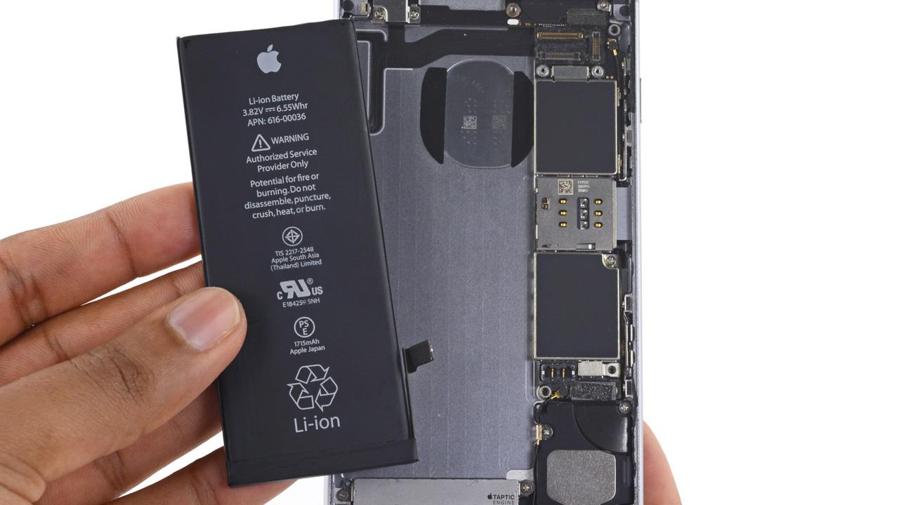 Cara Membuka LCD Dan Mengganti Baterai Apple IPhone 6s 6s