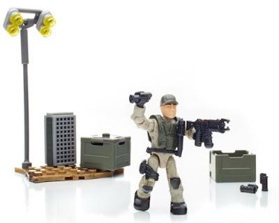 MEGA BLOKS TERMINATOR GENISYS T-1000 RESISTANCE SOLDIER