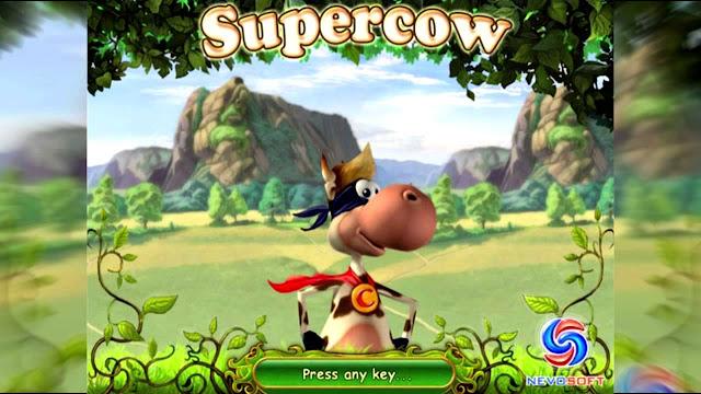 تحميل لعبة البقرة الخارقة الشقية super cow القديمة كاملة للكمبيوتر والموبايل الاندرويد
