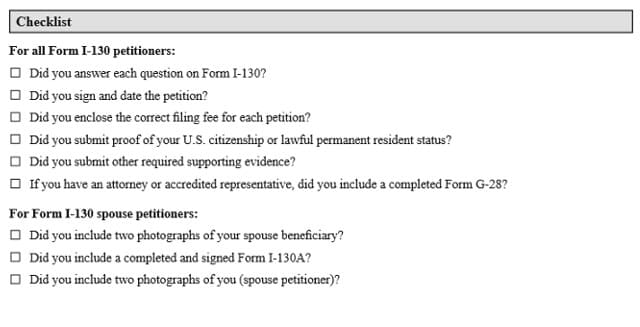 Form_I-130_Check_list