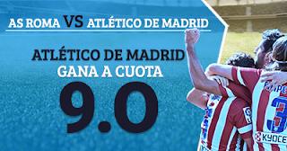 Paston Megacuota 9 Atlético de Madrid gana a Roma + 100 euros 12 septiembre
